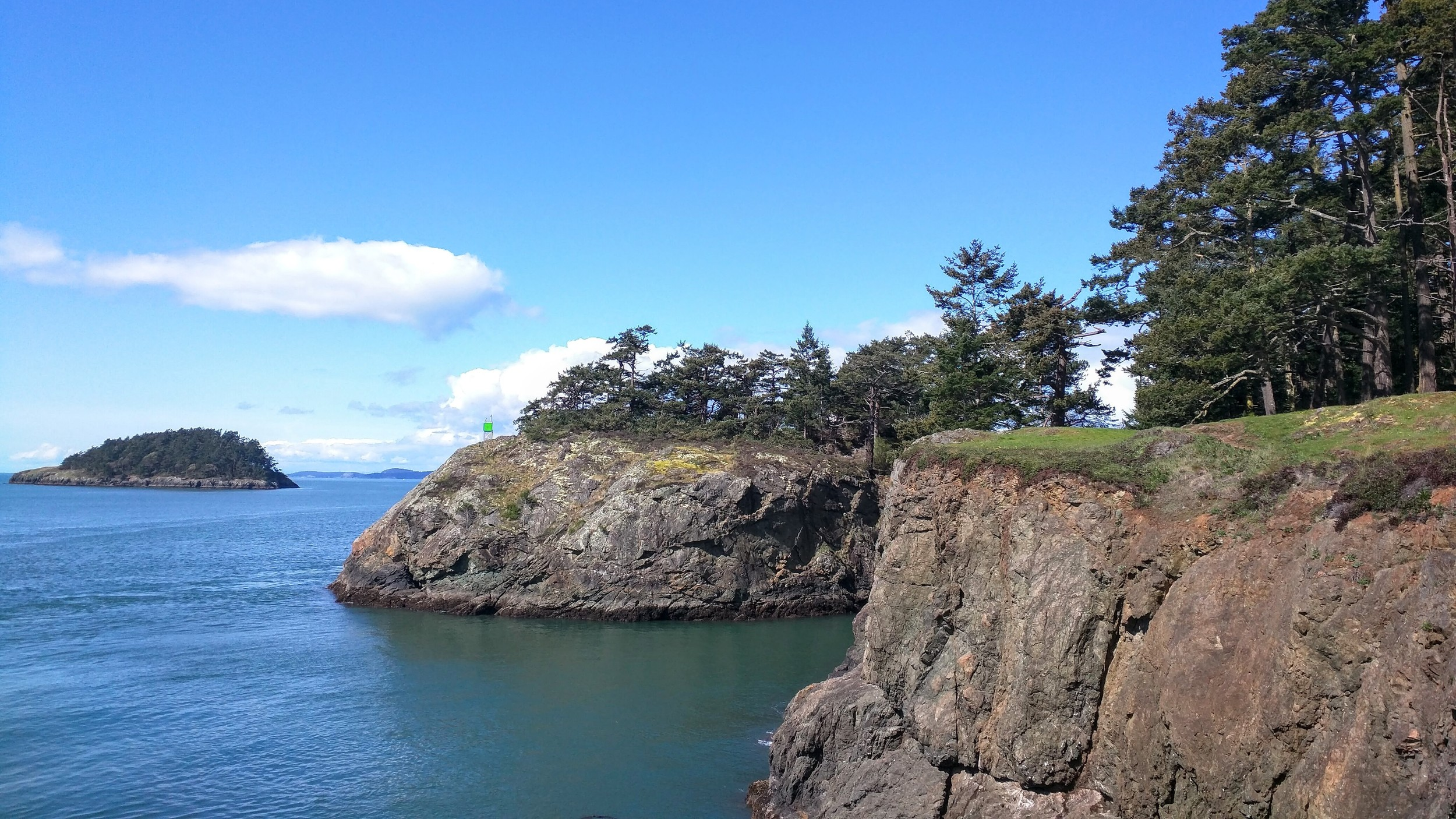 Lighthouse Point at Deception Pass State Park