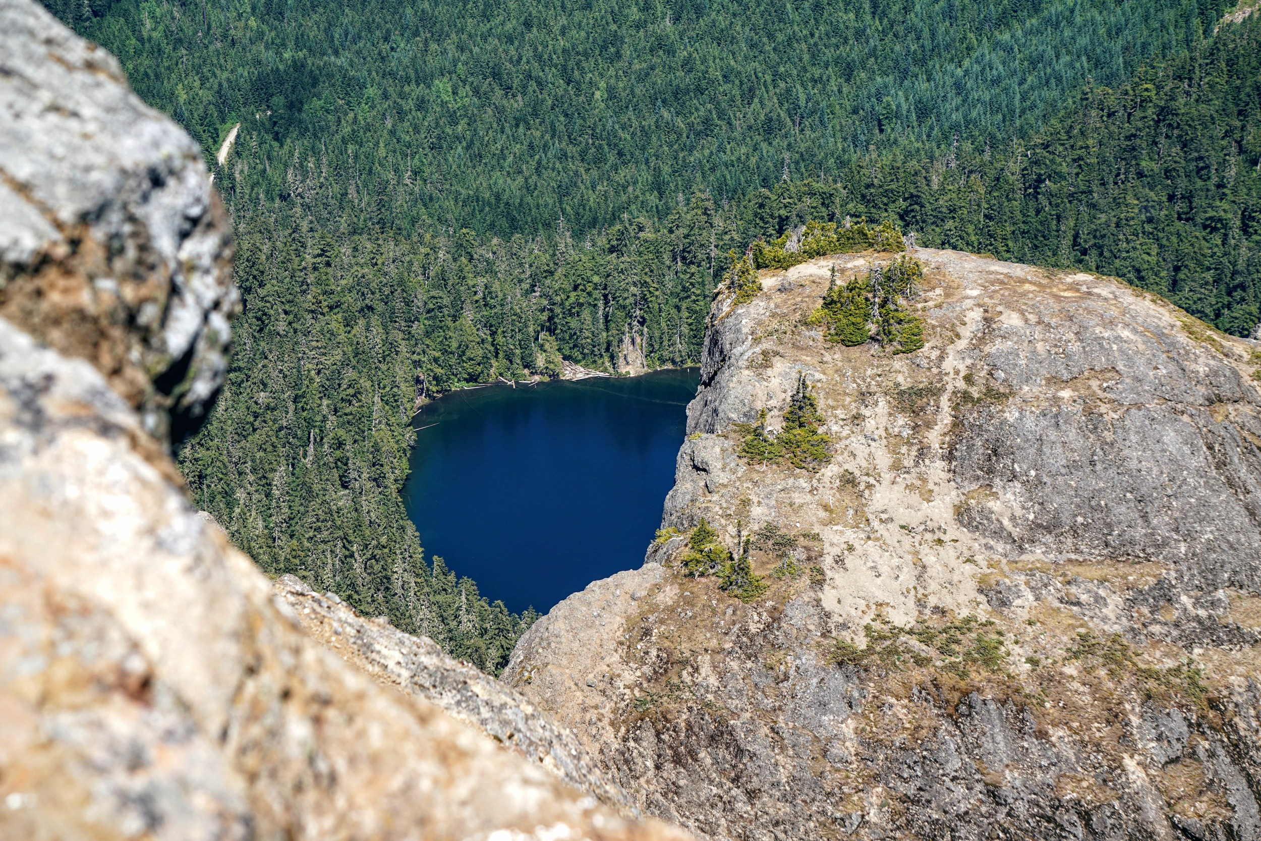 Cora Lake from High Rock