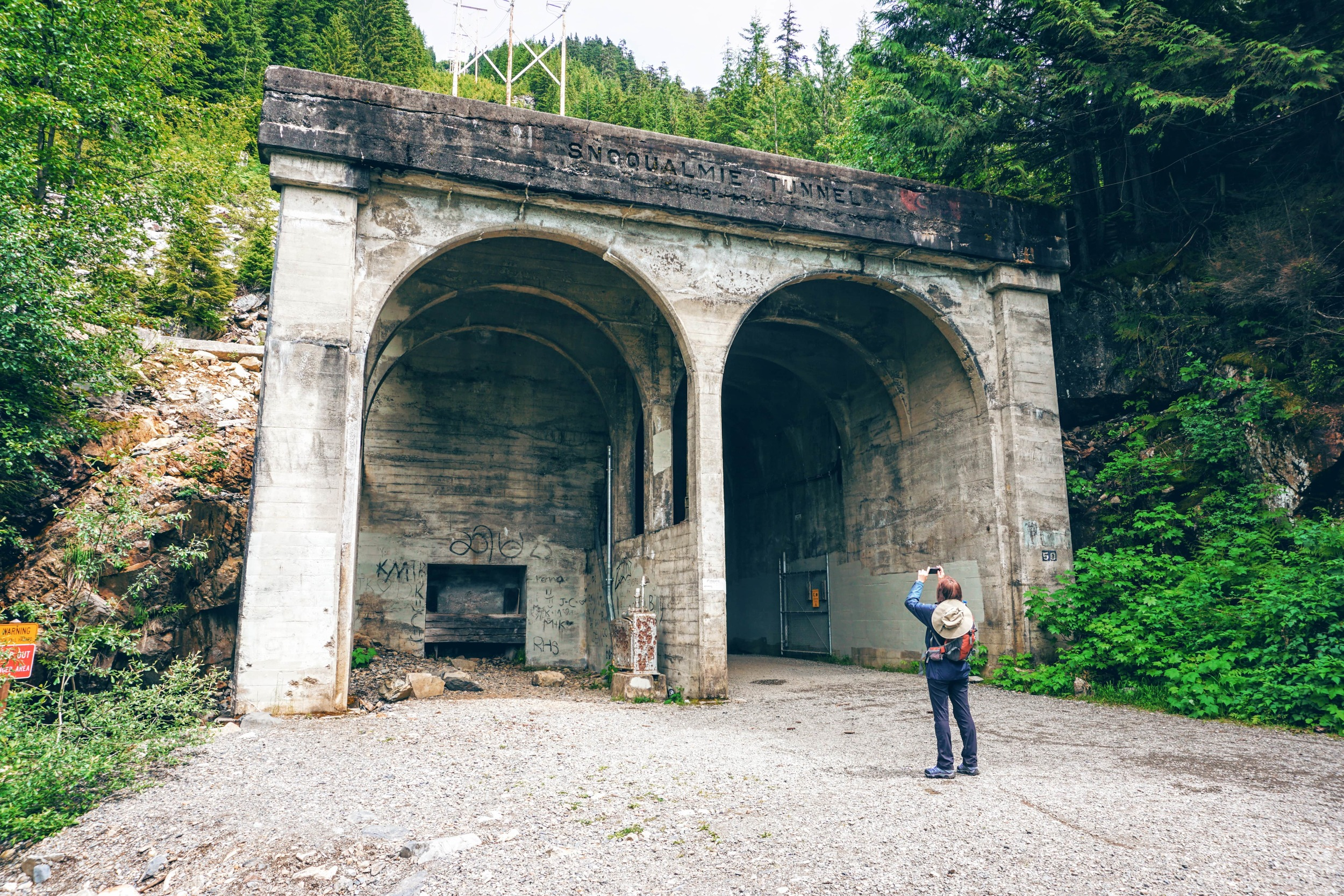East Side Entrance of Snoqualmie Tunnel