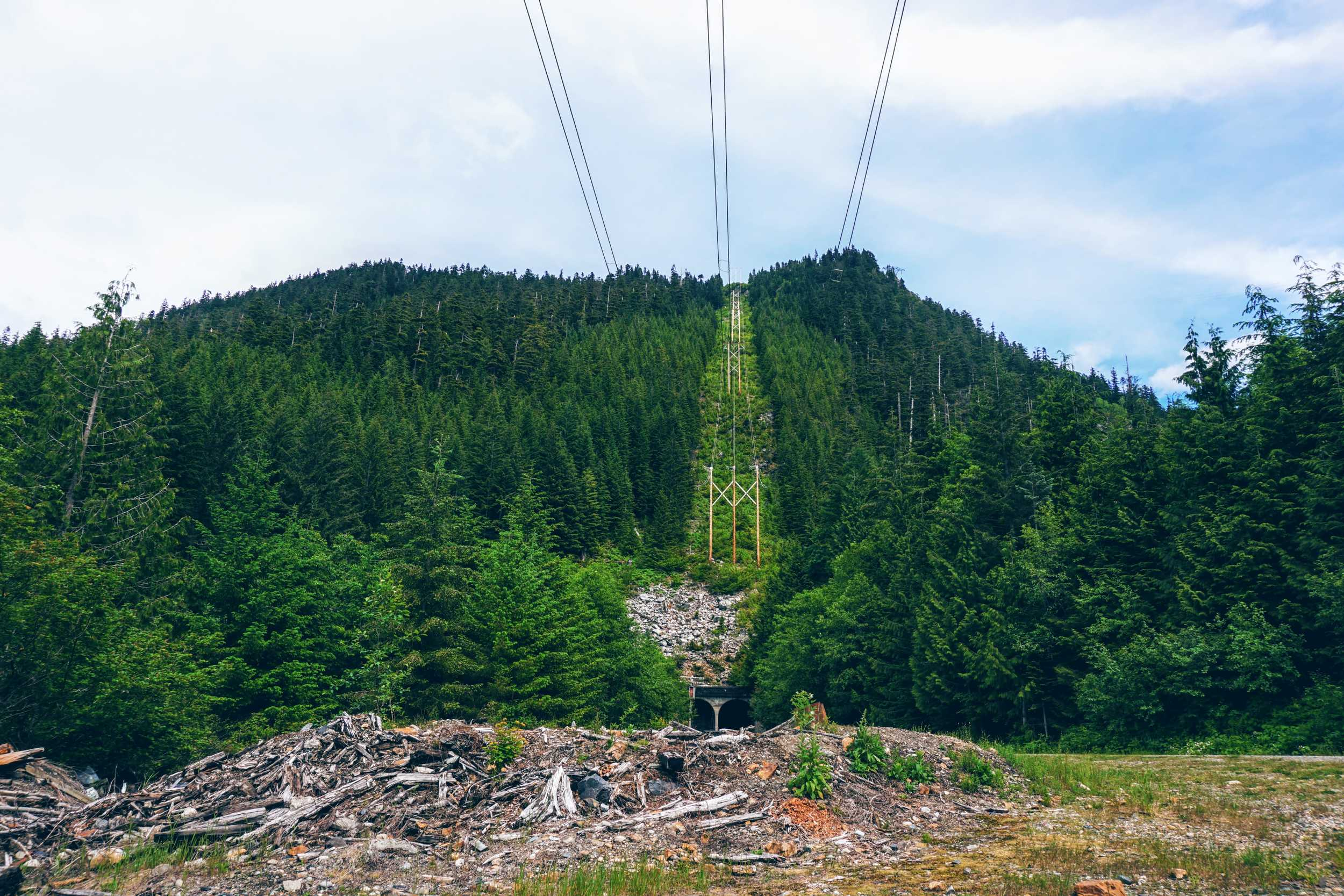 Mountain Above Snoqualmie Tunnel