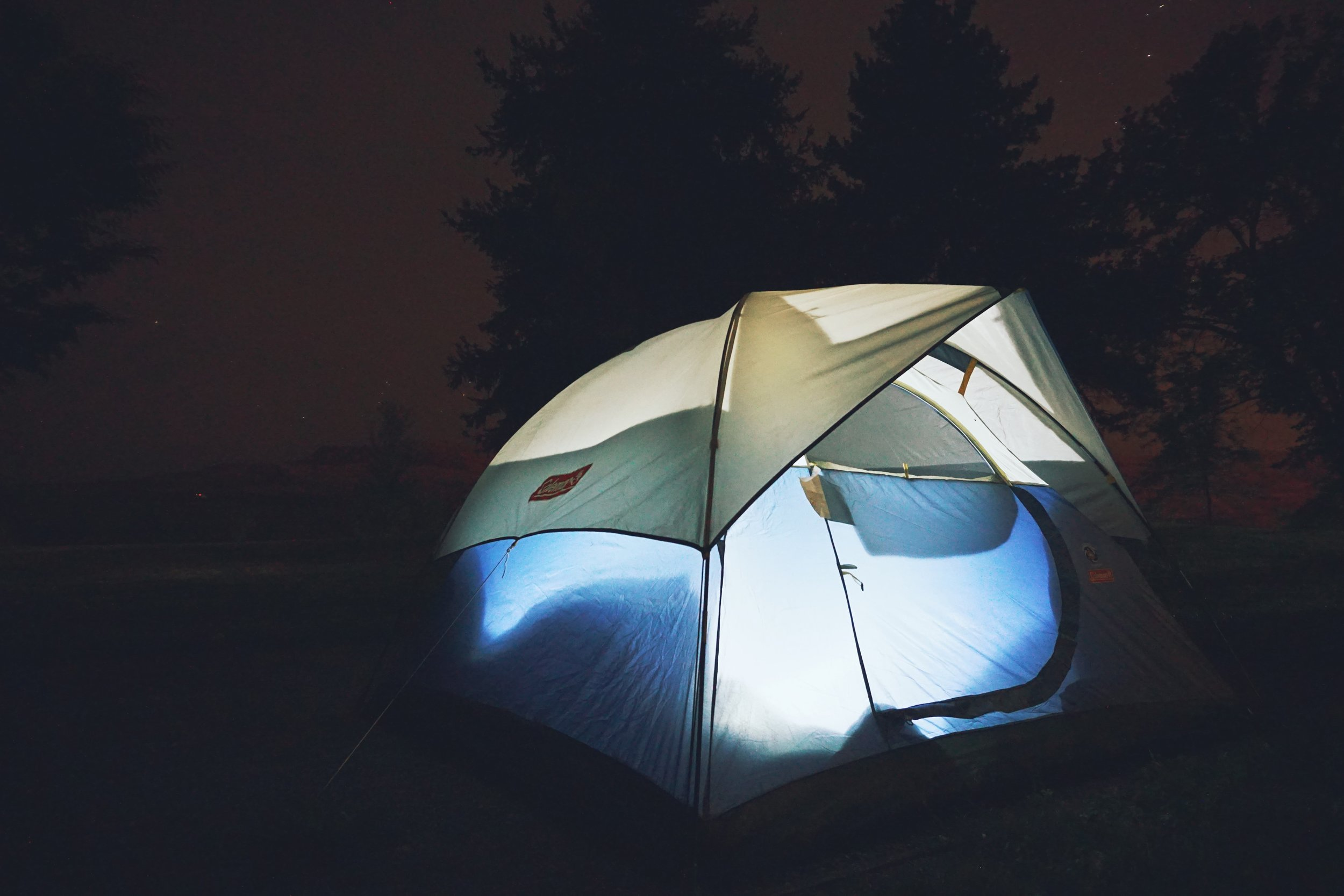 Camping at Bridgeport State Park