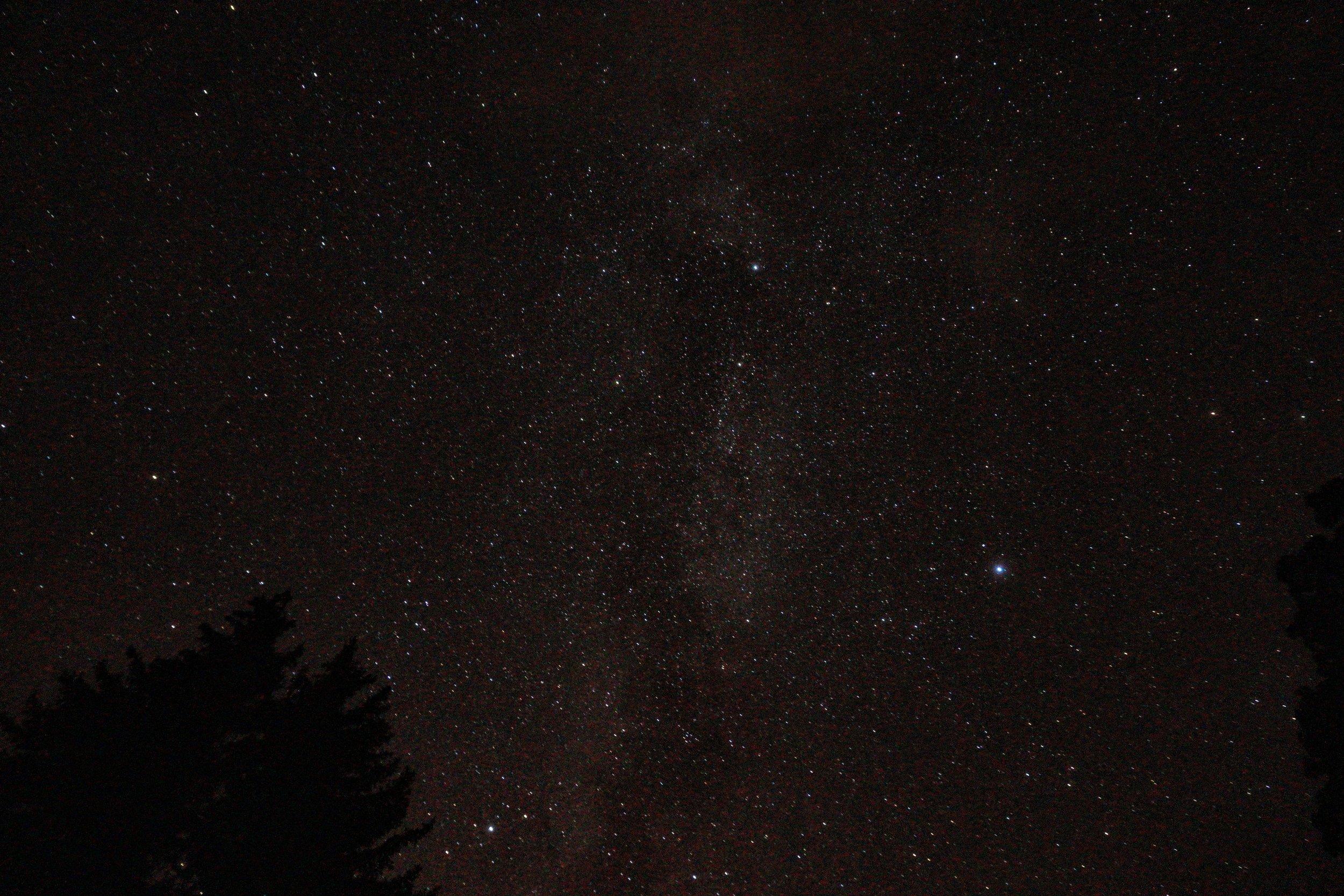Stargazing at Bridgeport State Park