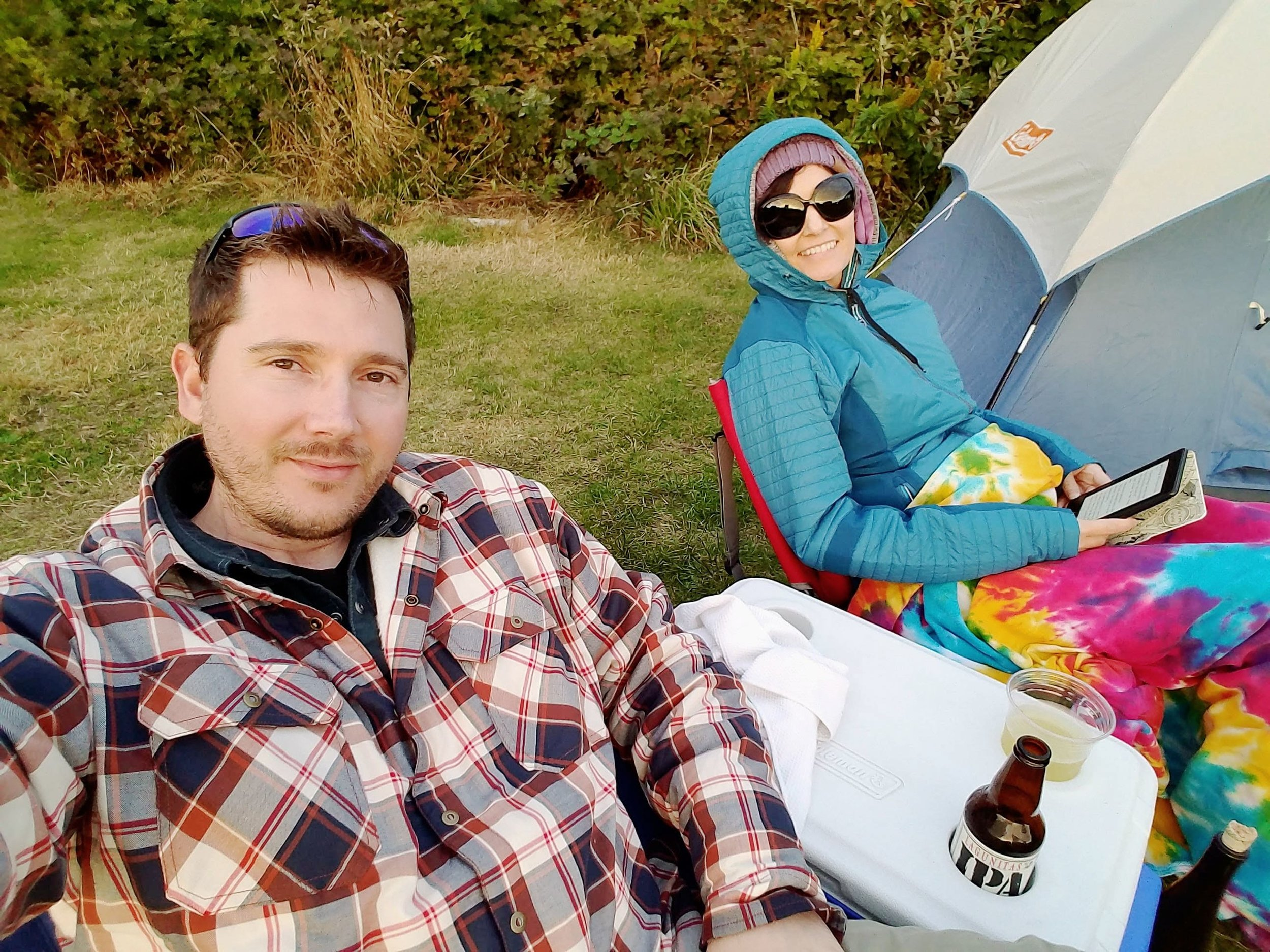 Camping at Pacific Beach State Park