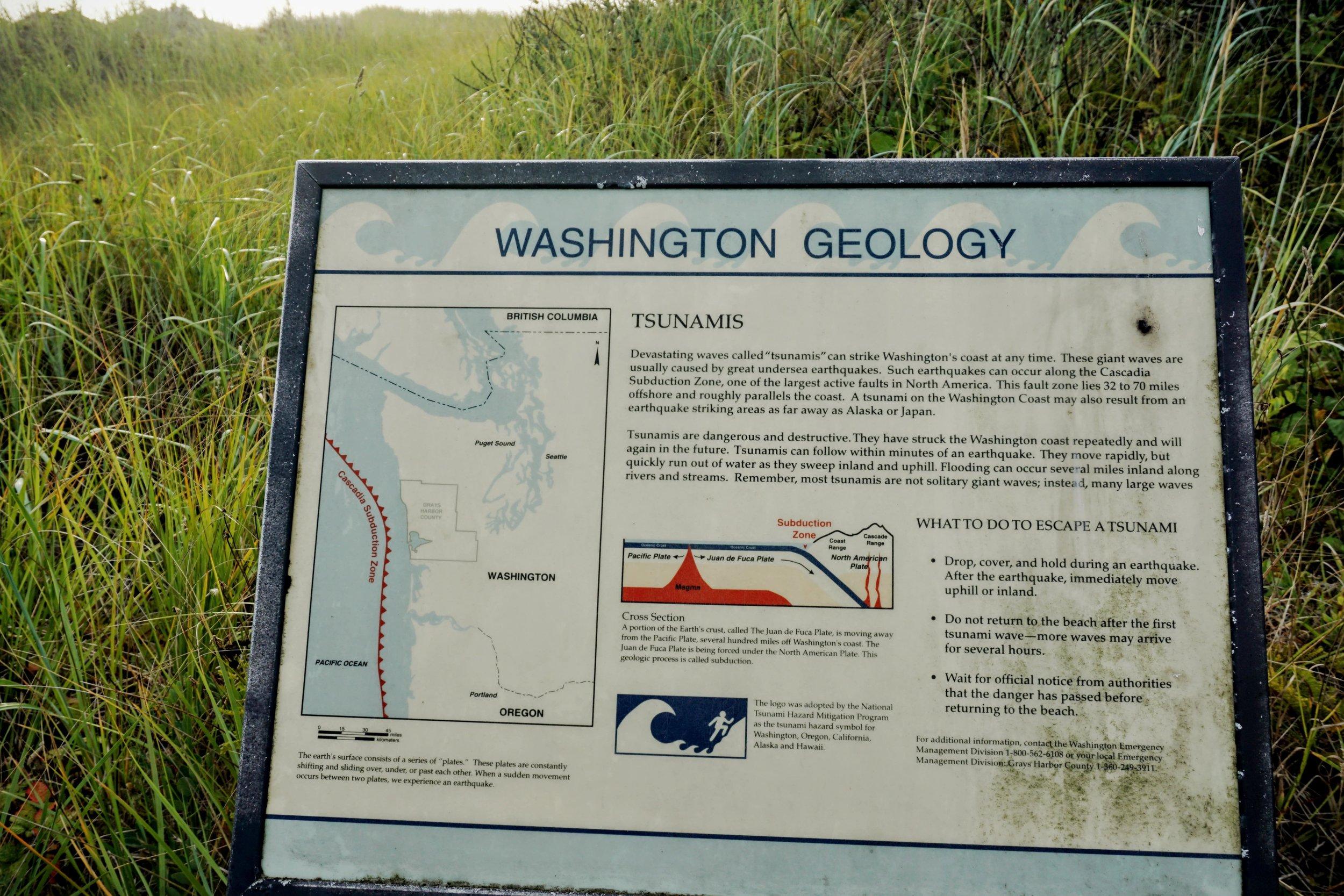Washington Geology Lesson