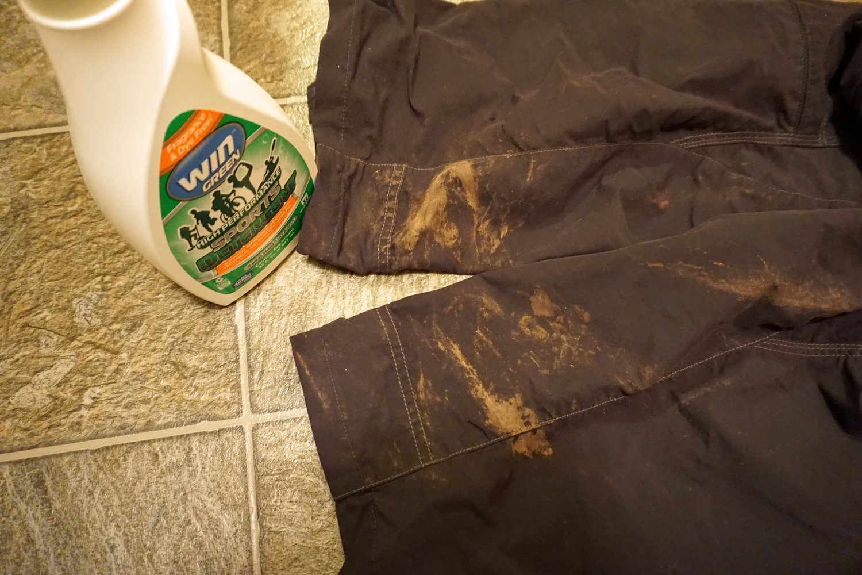 Back Label of Win Detergent