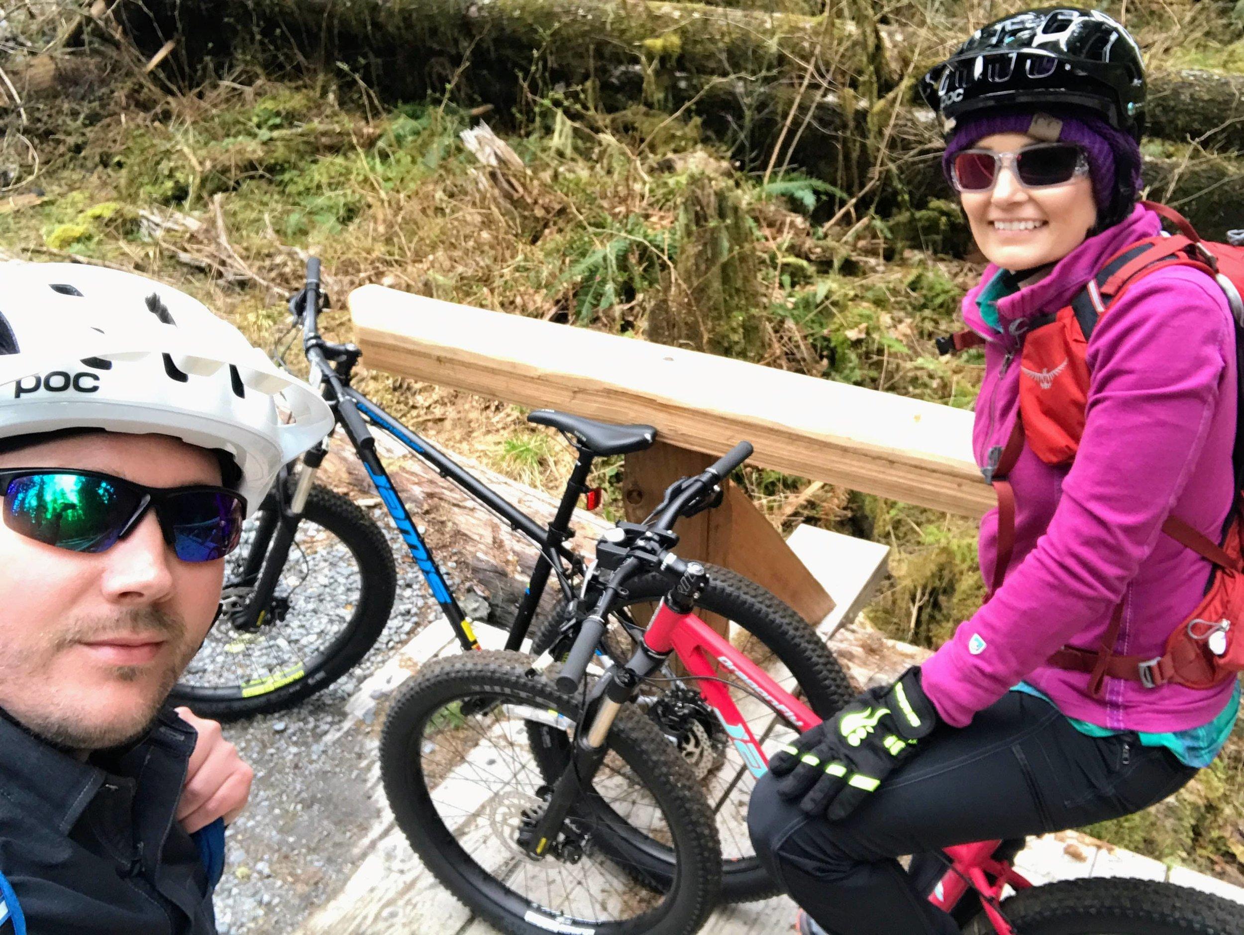 Biking the Carbon River Road