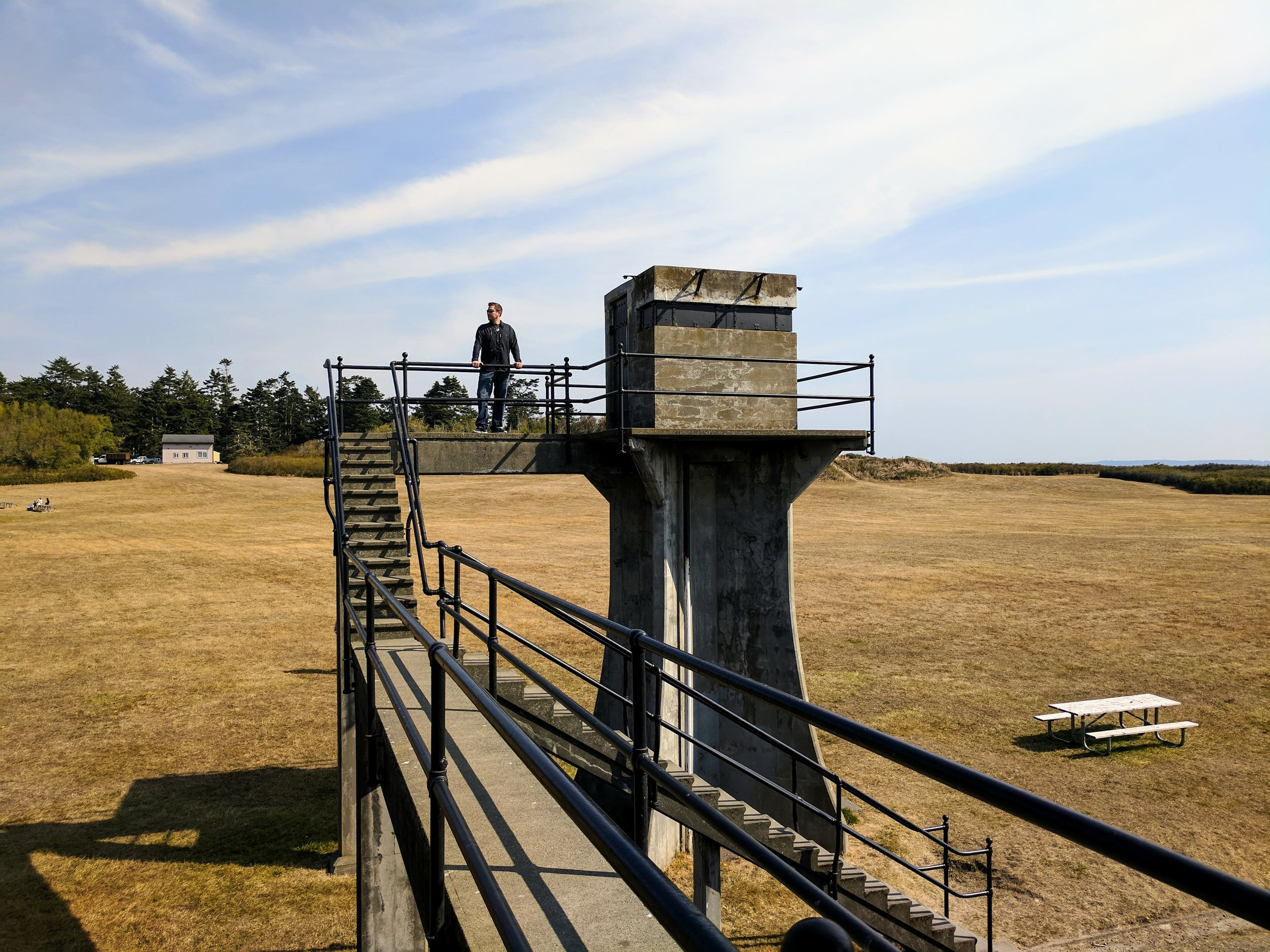 Batteries at Fort Casey Historical State Park
