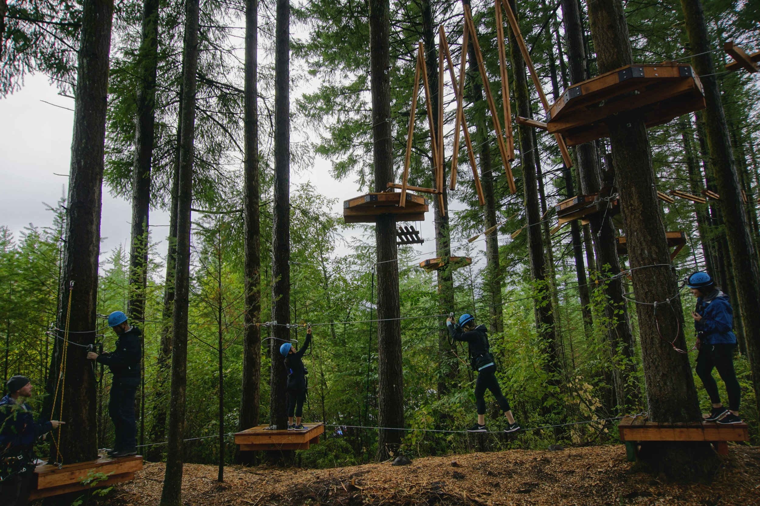 Skamania Lodge Aerial Park
