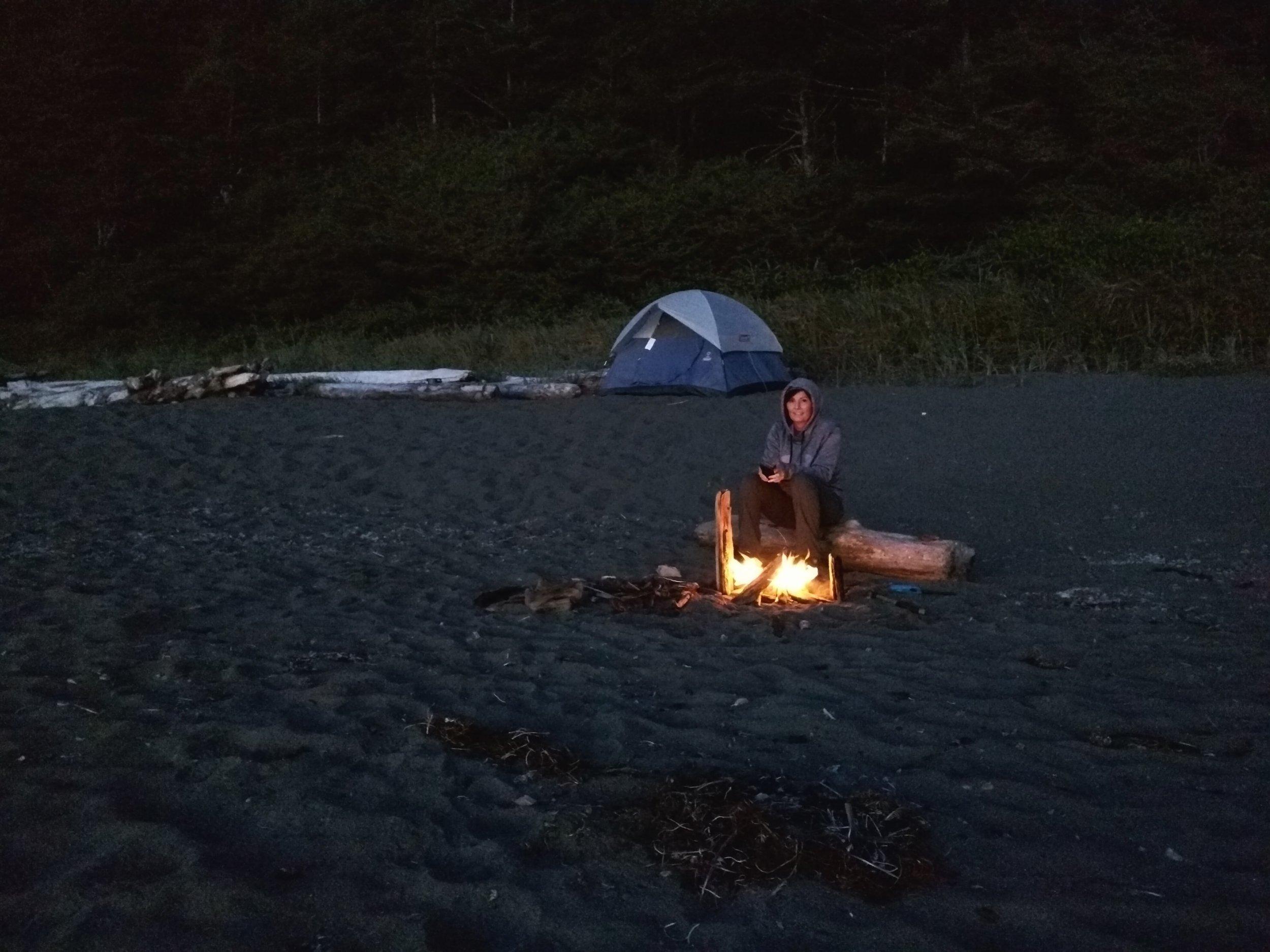 Camping at Shi Shi Beach