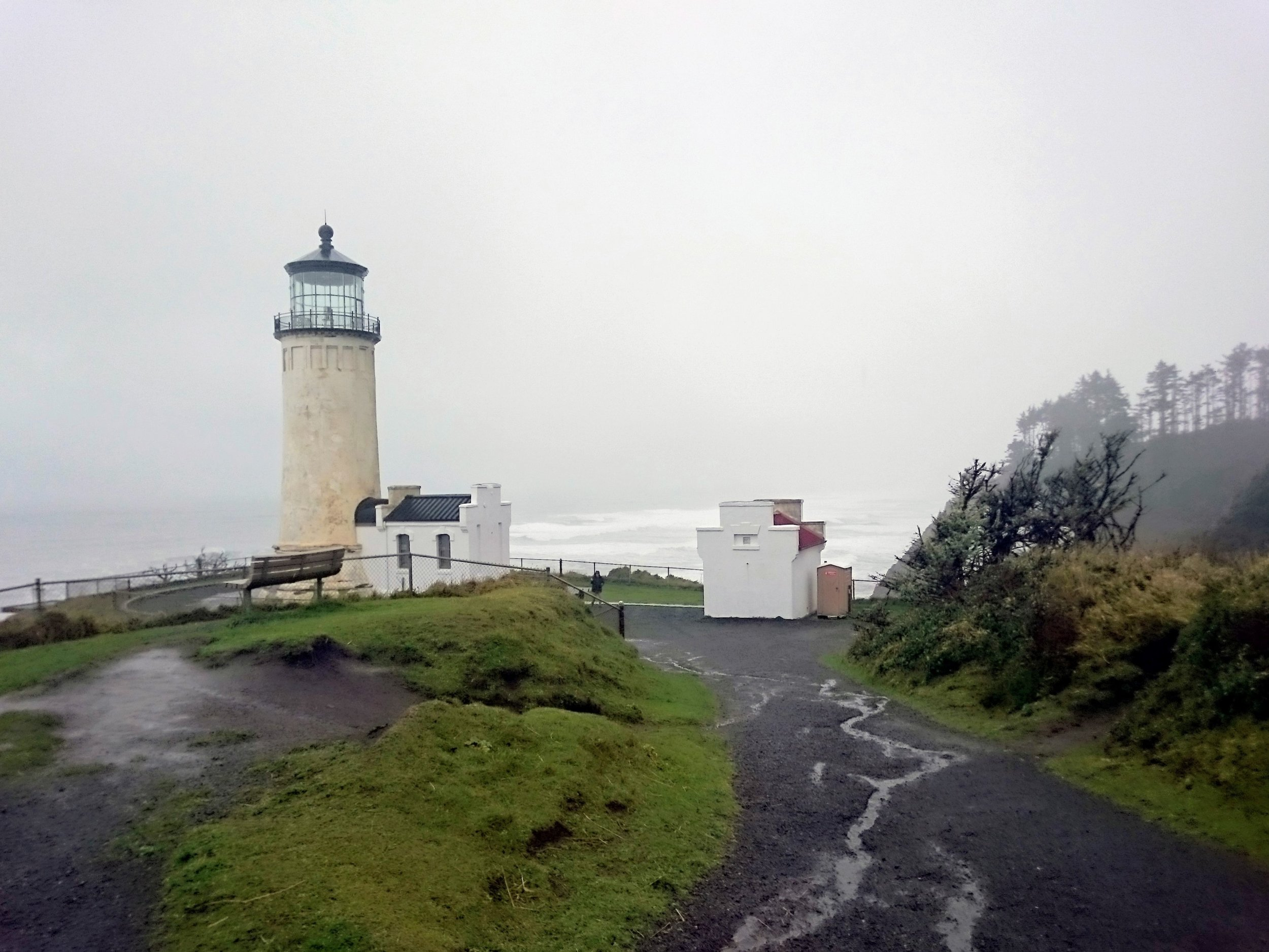 North Head Lighthouse at Cape Disappointment State Park