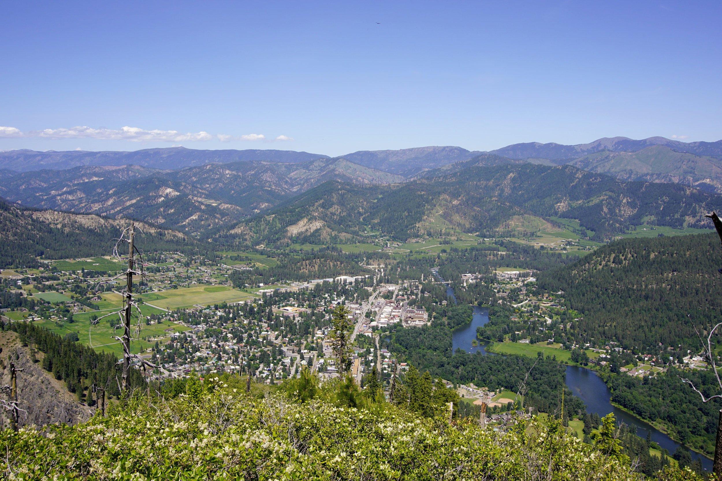 Leavenworth down below