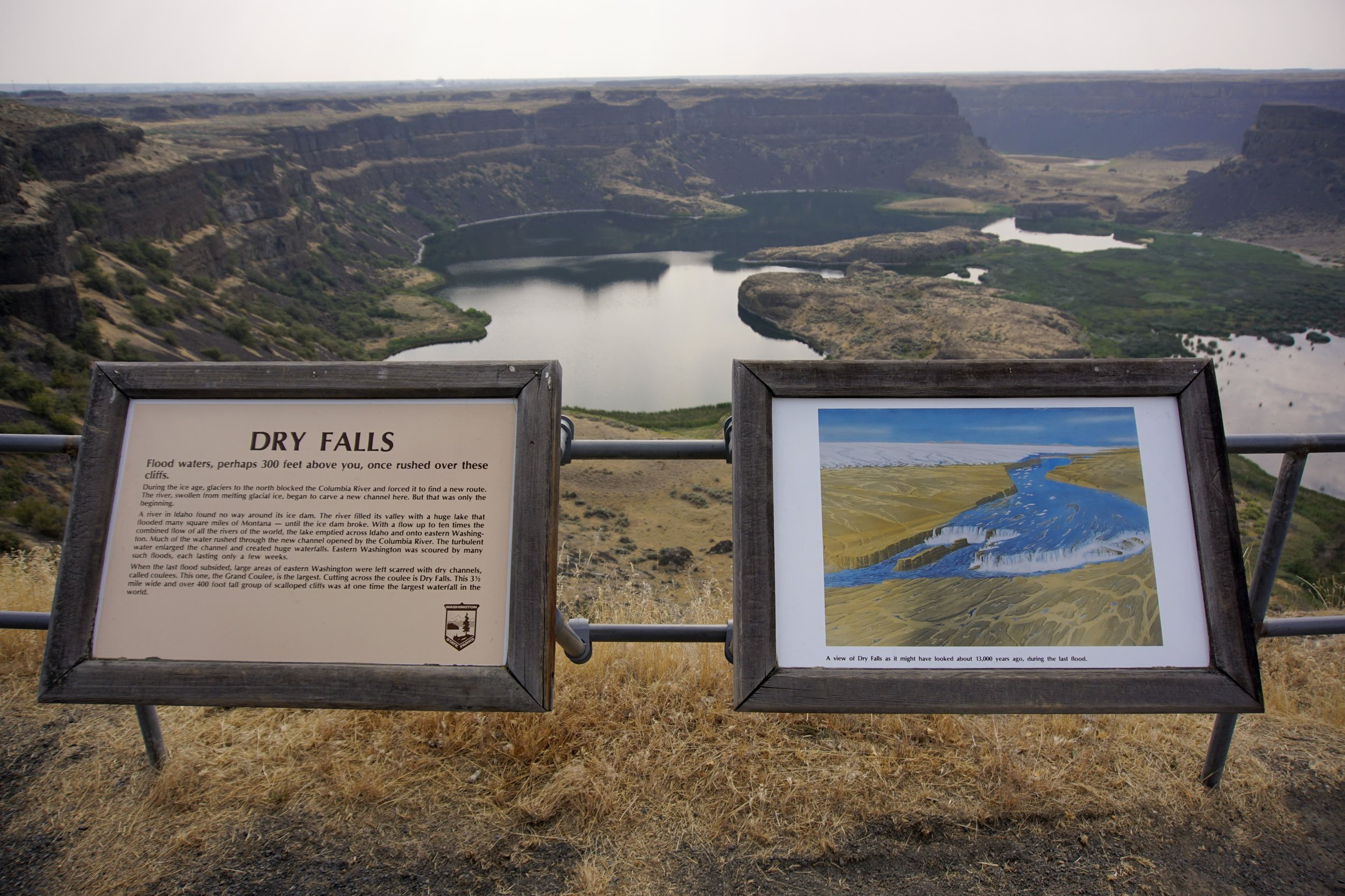 Dry Falls from Visitor Center