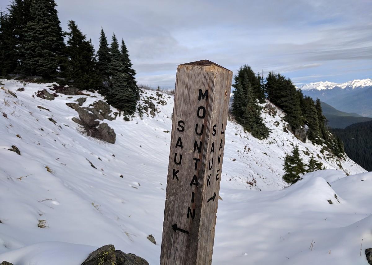 TRAIL REPORT: SAUK MOUNTAIN