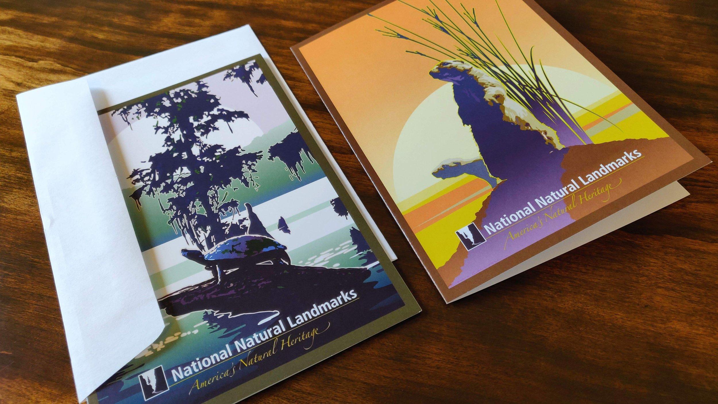 National Natural Landmarks Note Cards