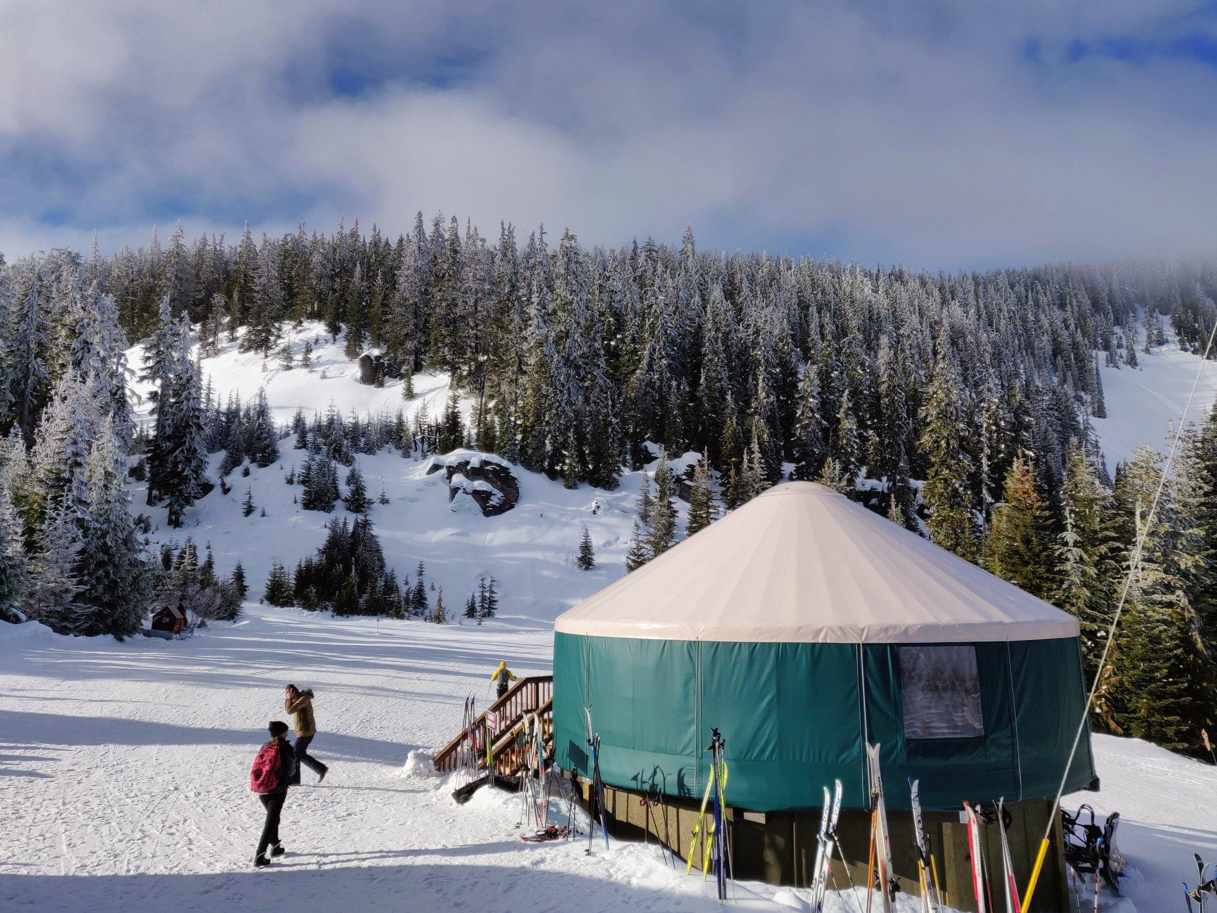 Nordic Center Yurt