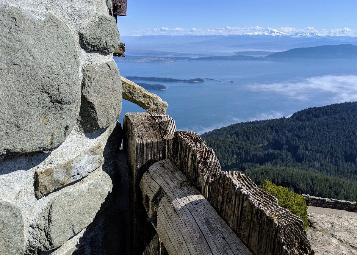 TRAIL REPORT: MT. CONSTITUTION LOOKOUT