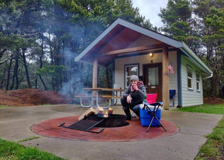 A TWO DAY STAY AT TWIN HARBORS STATE PARK