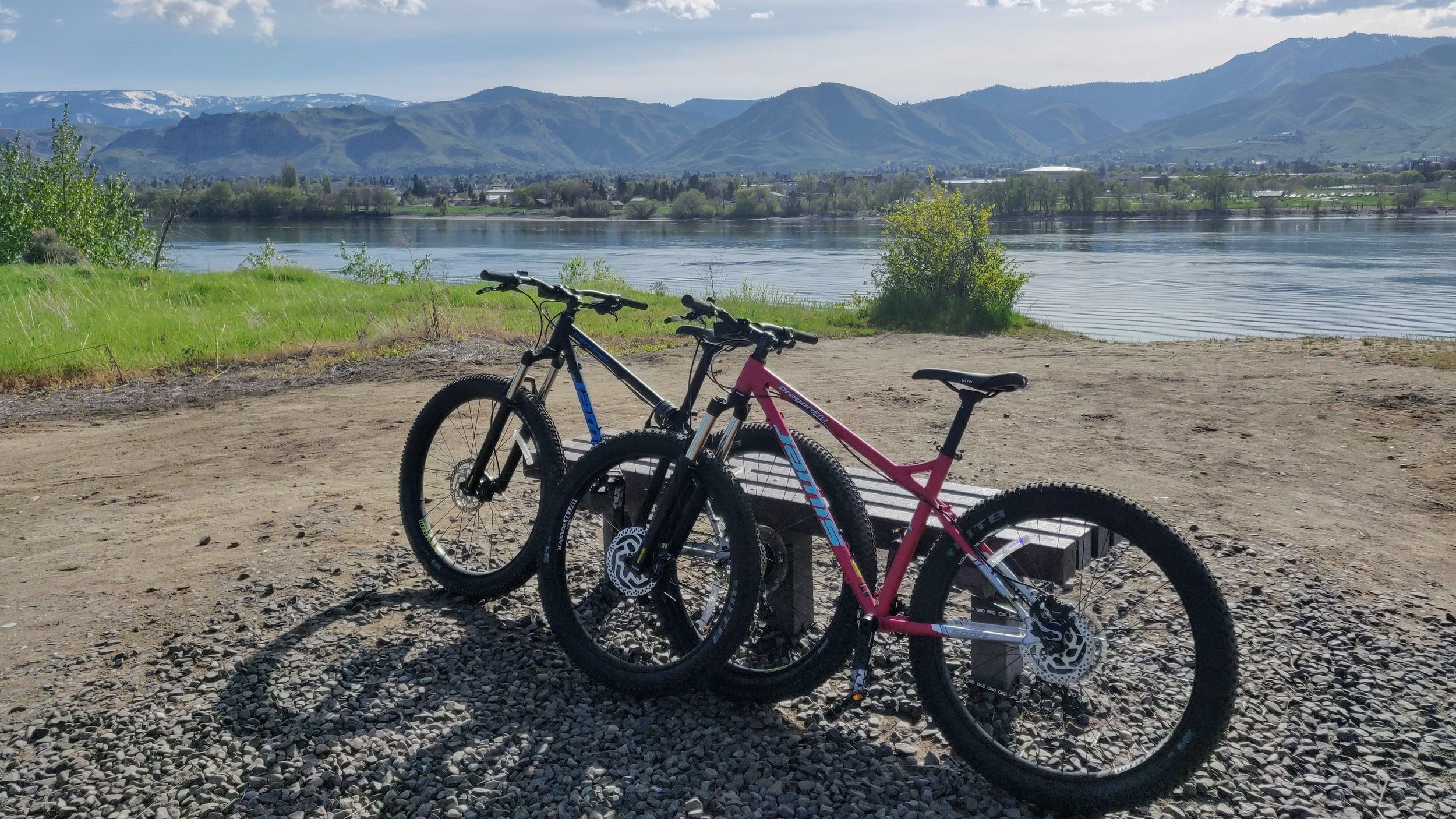 Apple Capital Loop Trail in Wenatchee