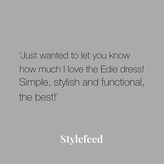 'Simple, stylish and functional' 💫 ⠀⠀⠀⠀⠀⠀⠀⠀⠀ Stylefeed was born out of sheer frustration for the lack of functional breastfeeding clothes that were also stylish and not 'frumpy, daggy or that require a nursing cover'. 🙌🏼 ⠀⠀⠀⠀⠀⠀⠀⠀⠀ You can read more testimonials on our website to find out what our customers say about our products. ⠀⠀⠀⠀⠀⠀⠀⠀⠀ ⠀⠀⠀⠀⠀⠀⠀⠀⠀ New here? Sign up for 10% off your first order. Have a wonderful day. 💕 ⠀⠀⠀⠀⠀⠀⠀⠀⠀ ⠀⠀⠀⠀⠀⠀⠀⠀⠀ #stylefeeder #testimonials #qualitydesign #triedandtested #feedback