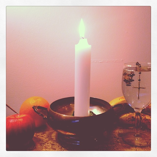 Candle spell for uncrossing love in an ancestral line