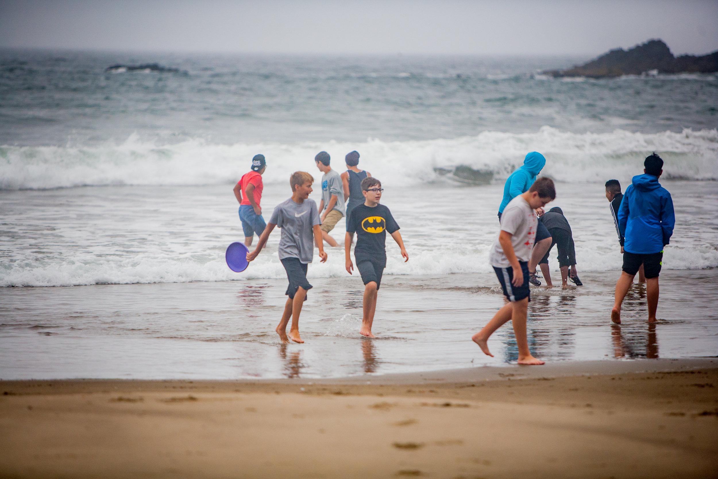 7-9th Grade Beach Day 2016