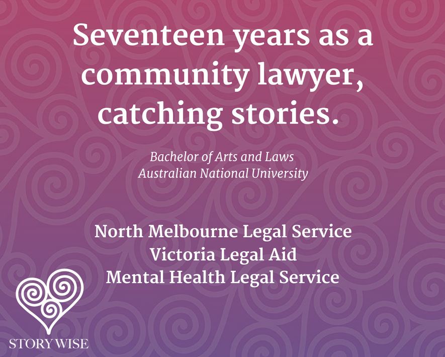 Kate Lawrence community lawyer