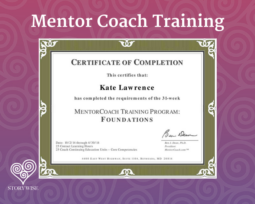 Kate lawrence certified coach