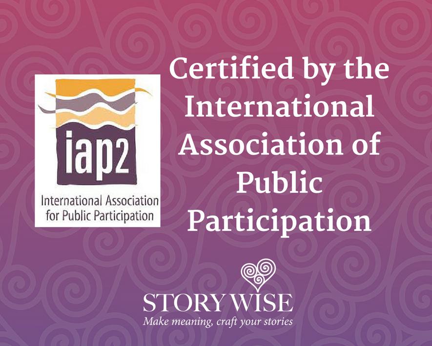 Kate Lawrence IAP2 Certified