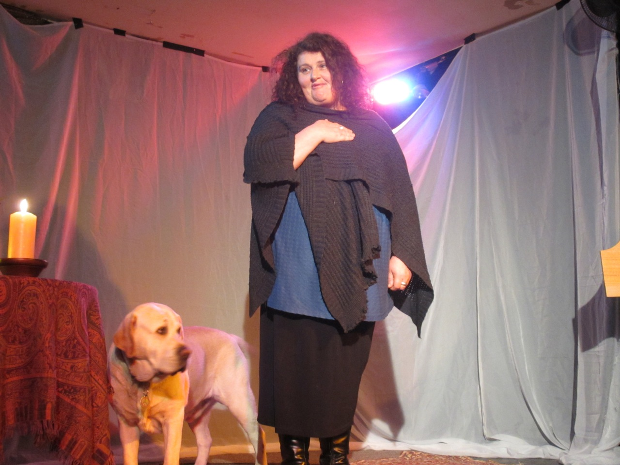 Teena Hartnett tells a story