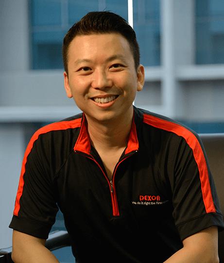 Managing Director of Dexon - Ir. Dexter Goh
