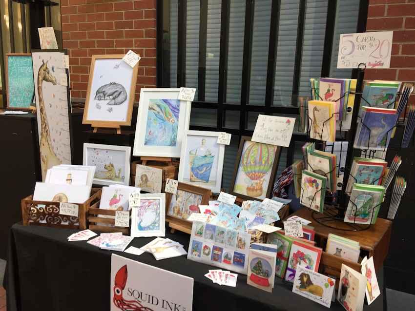 Squid Ink Art - Sisters Market (Brunswick)