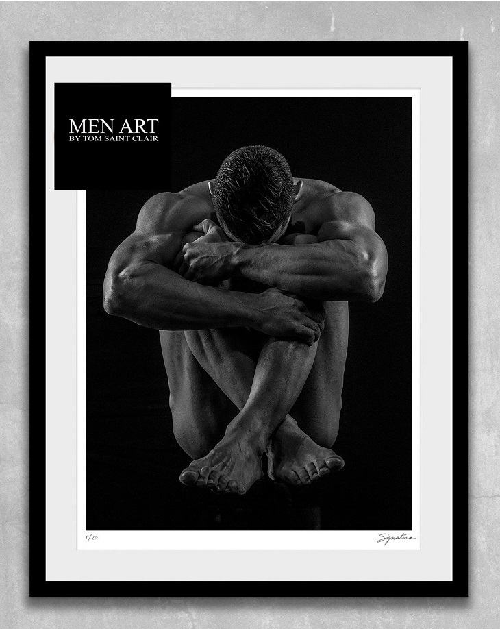 "LIMITED EDITION PRINTS   Collectable, signed and numbered prints  from Tom Saint Clair are available EXCLUSIVELY at  menart.com . These prints are usually limited to 20, meaning that no more than that number will ever be printed, ensuring you will have a product that is more collectable and special. For this reason these artworks are priced much higher than the OPEN EDITION prints.  These are Fine Art ""Giclee"" prints on Hahnemühle Photo Rag 308gsm  - a white, 100% cotton paper with a smooth surface texture – guarantees archival standards."