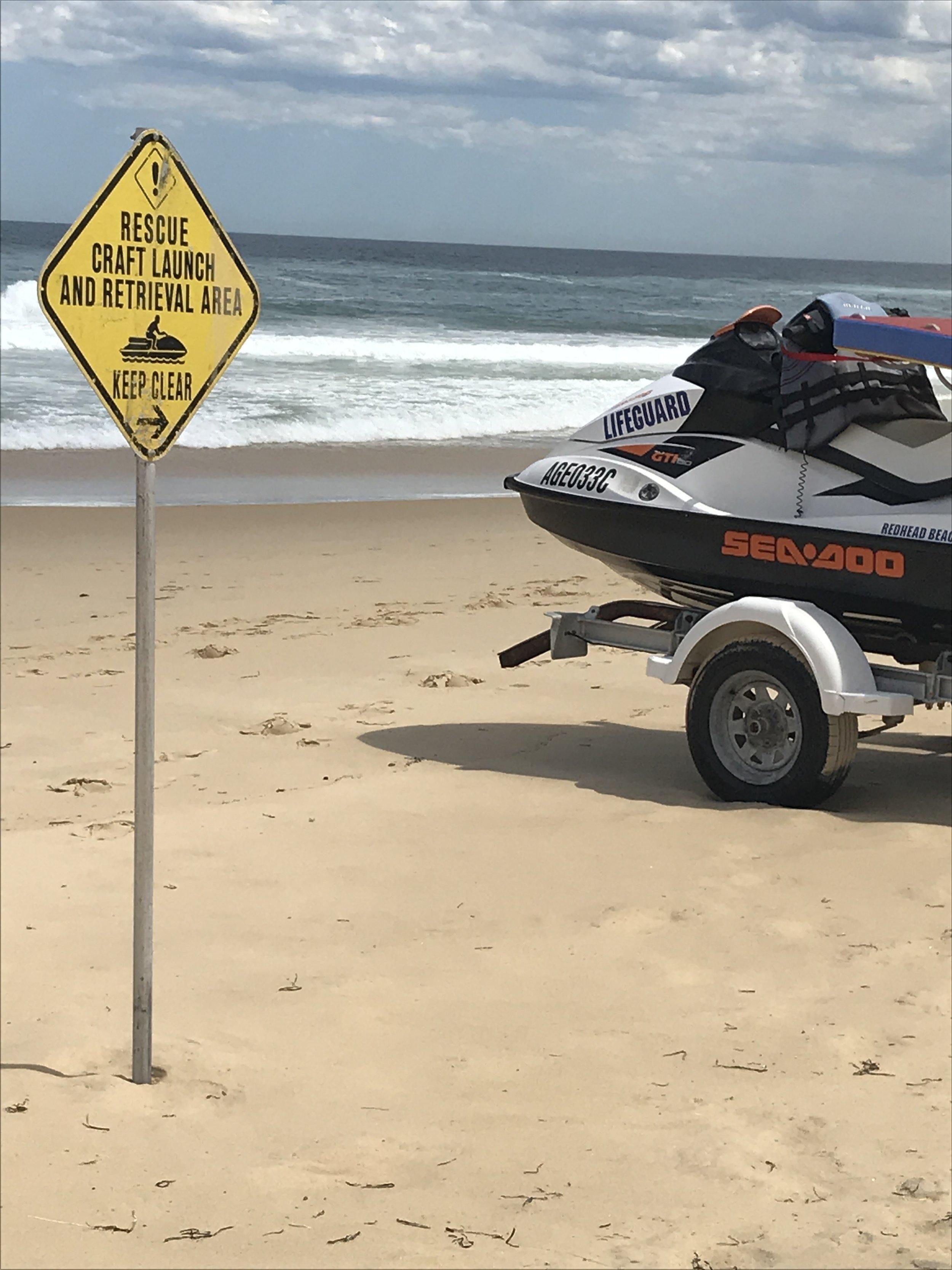 beach sign rescue boat.JPG