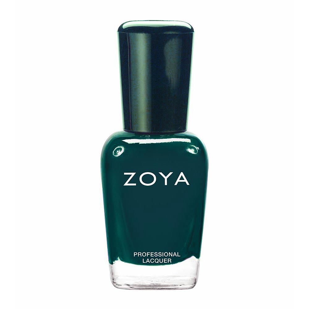 zoya green polish