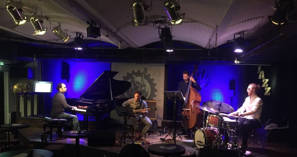 Had a wonderful time on the road with the Eyal Lovett Quartet.  Our debut live album was succsesfully recorded during a 3 night residency in Horns Erben, DE. Stay tuned and be part if the magic!