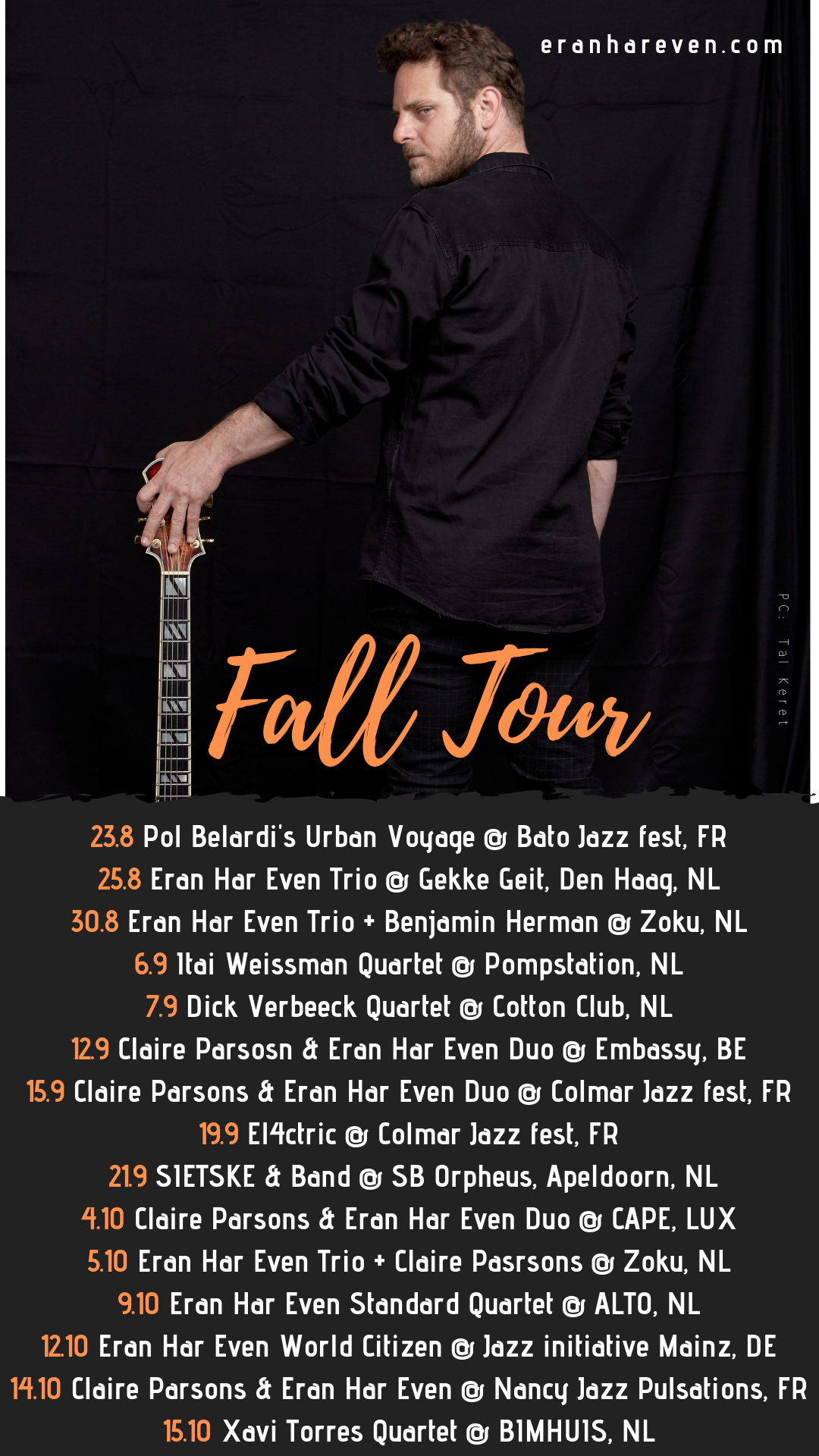 Up coming Concerts (Sep-Oct 2019)