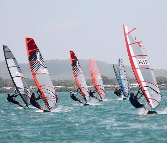 #raceboardwindsurfing Day 2 Aus Nats