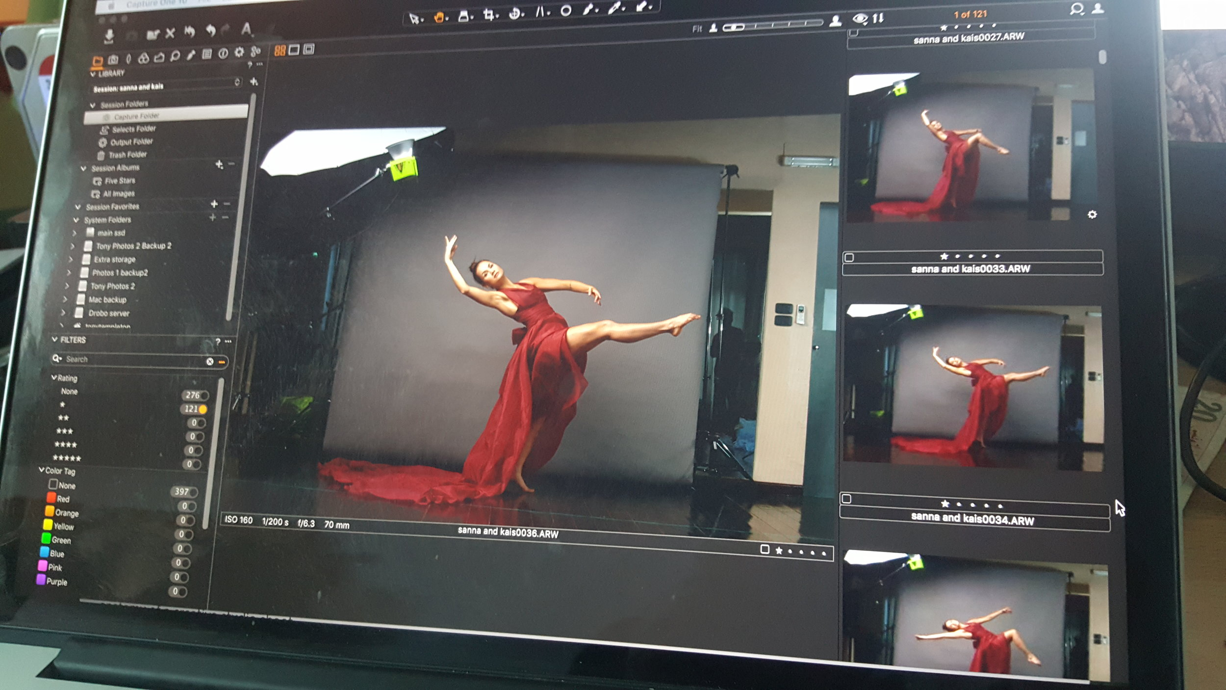 editing in Capture One Pro