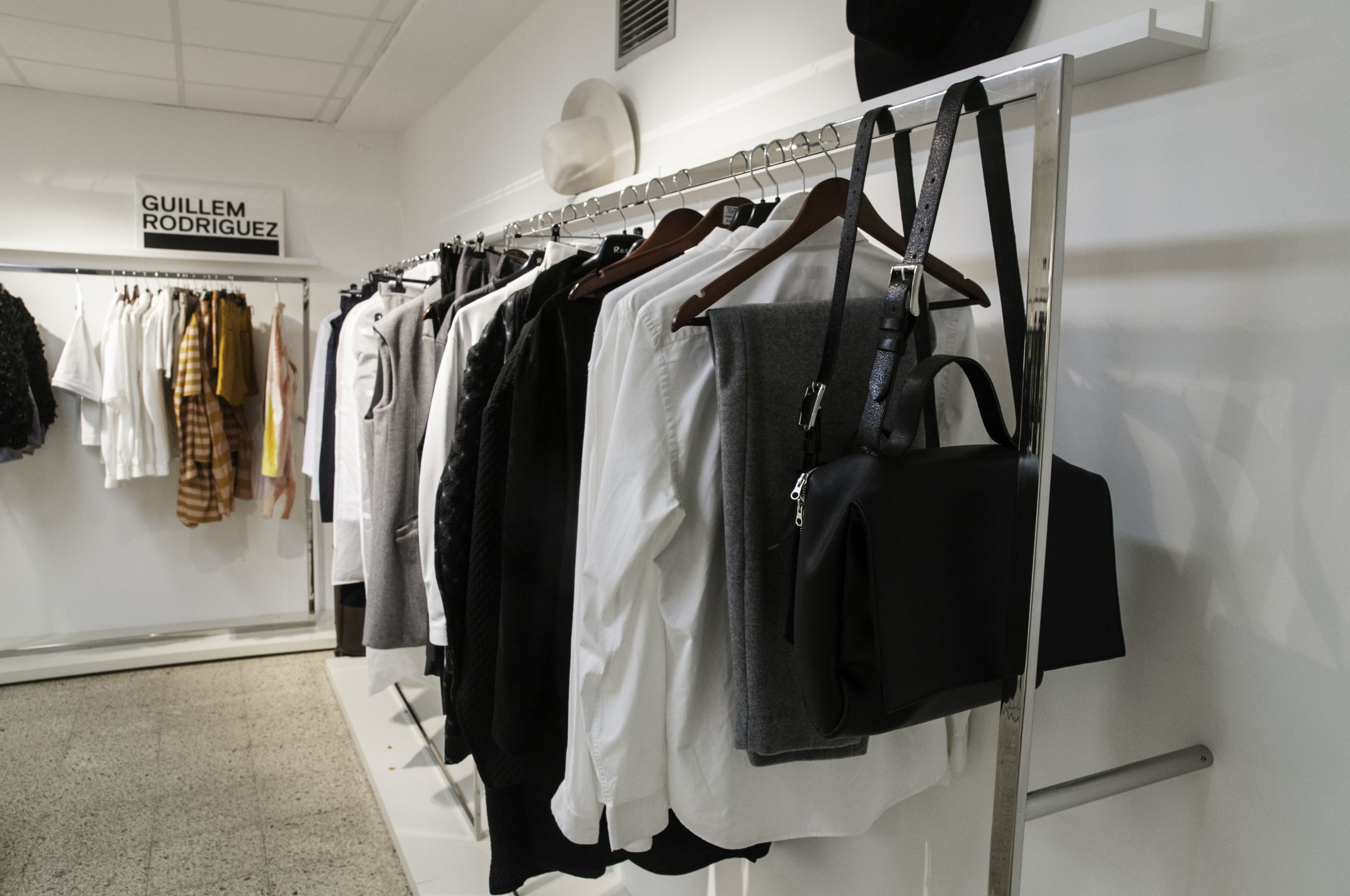 Private showroom is perfect for meeting with buyers or press