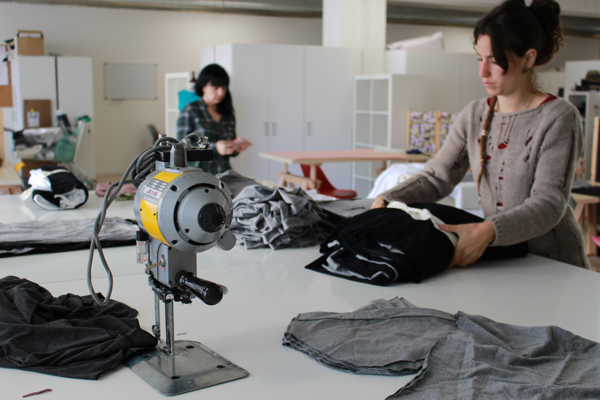 Sewing machines are available to assemble your own prototypes