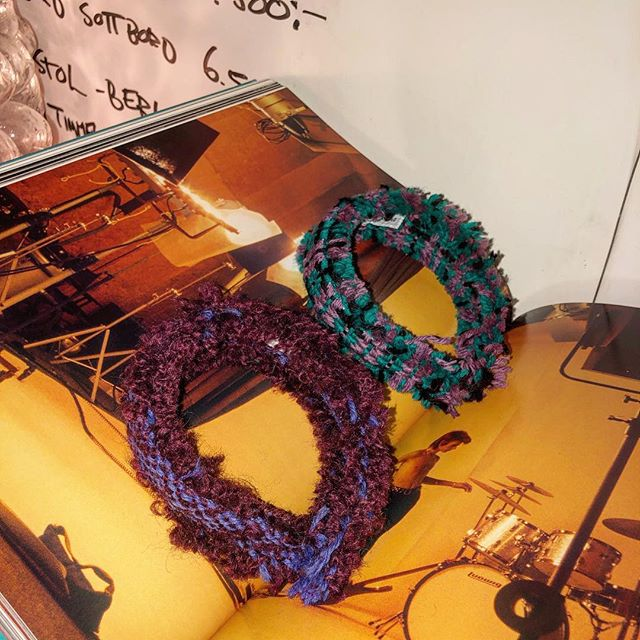 Headband 550 SEK. If your hair is messy, make a ponytail or a bun and put one of these headbands on top.