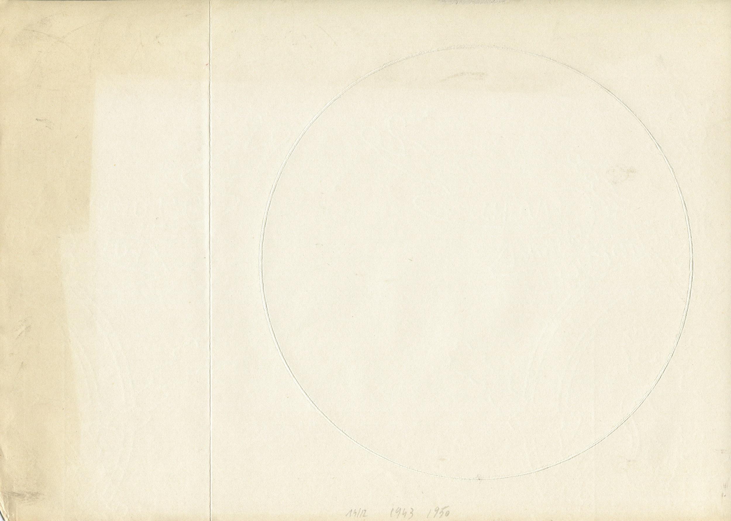 Untitled , Omar Omandichana,  ipaekeb  (1985), trace on paper.