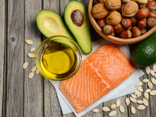 Selection of heart healthy unsaturated fats