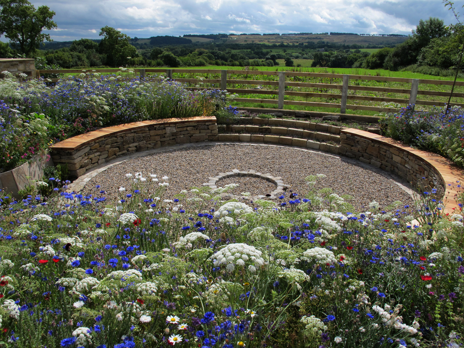 Pictorial Meadows, Hudswell, Eves & Lewis Landscape Design