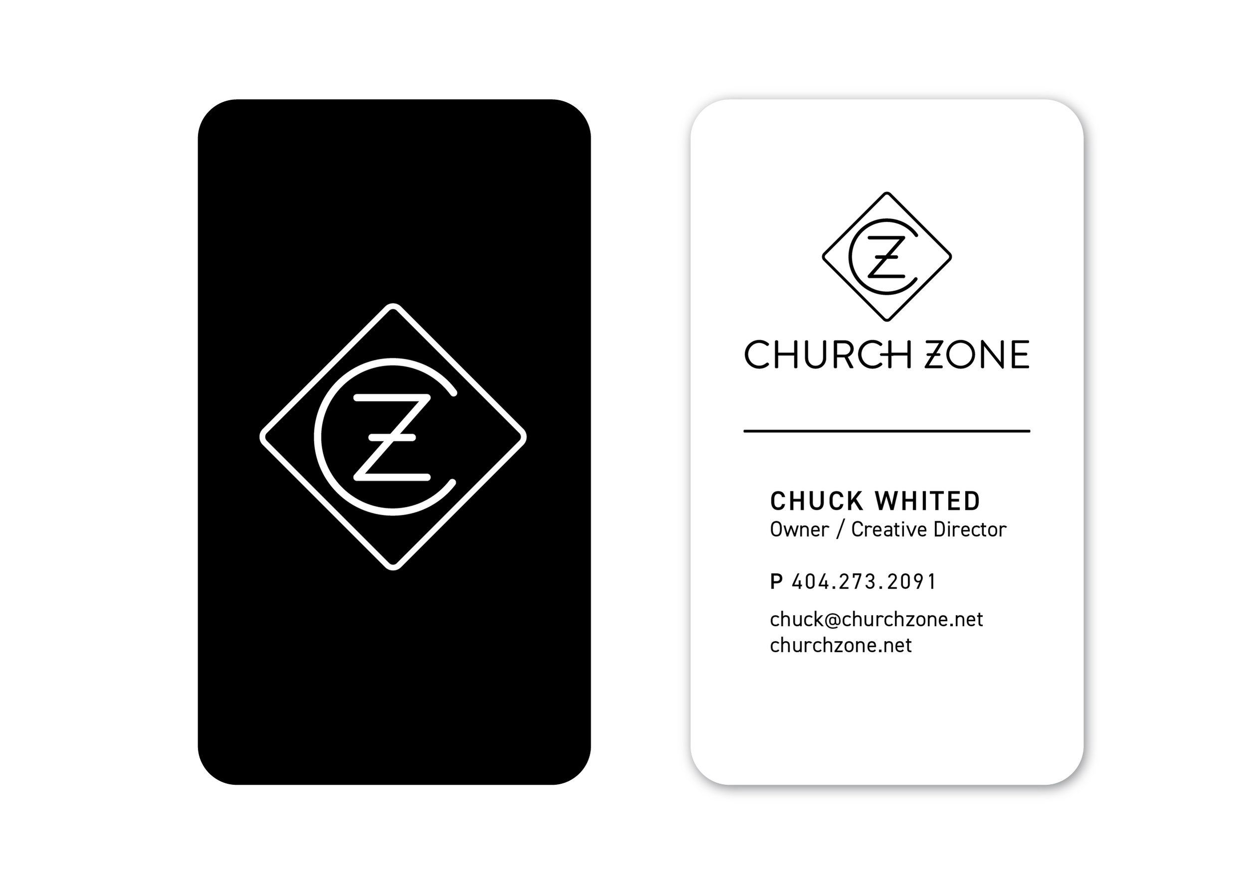 PLAY created a simple and modern logo mark. The business card designs pushed this aesthetic forward.
