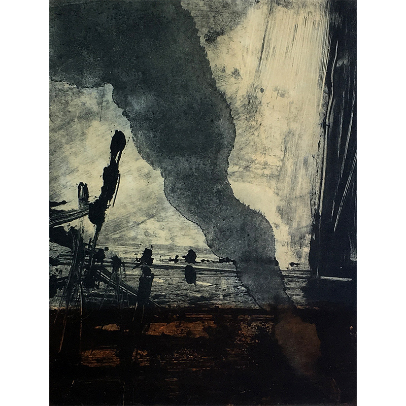ØRNULF OPDAHL  Röyk  on view at Jesmond Dene House   Etching, edition of 50, 23 x 17cm  £695 Framed   ENQUIRE