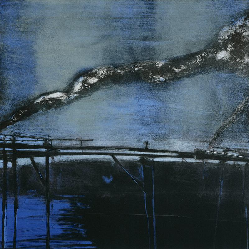 ØRNULF OPDAHL  Smoke  on view at Jesmond Dene House   Lithograph, ed. 40/80, 70 x 70cm  £1,150 Framed    ENQUIRE
