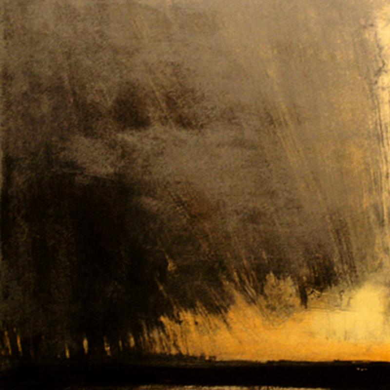 ØRNULF OPDAHL  At Sea  on view at Jesmond Dene House   Lithograph, variation 9, 39 x 39cm  £850 Framed    ENQUIRE