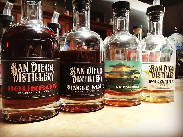 That's a nice set of whiskey!  Come taste them!  Open Fri 5-9, Sat 2-8, Sun 1-5!  Cheers!
