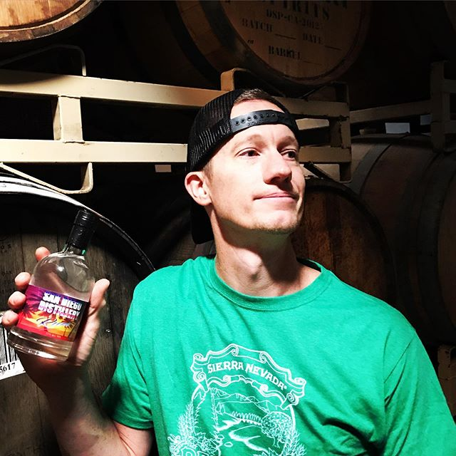 Come see our owner/distiller Trent tending bar today, Sunday from 1-5!  We don't often release clear spirts, but due to demand we are releasing a small batch of our Jamaican-style clear rum.  Estery and thick, one of my favorite white spirits we have ever made (and don't worry we have some aging in barrels also!)